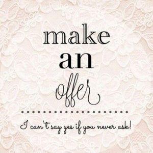 Make me an Offer💗💗